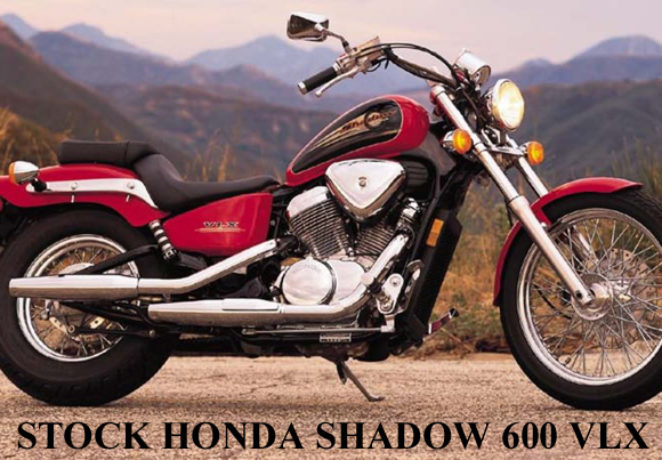 Honda Shadow VT600CD VLX (Deluxe)