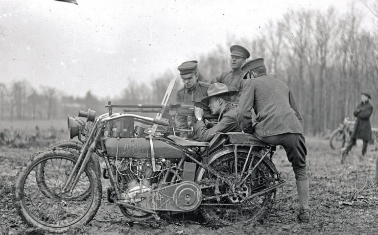 Motorcycles of war