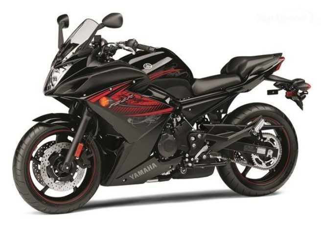 Yamaha FZ6R, он же — Yamaha XJ6 Diversion F
